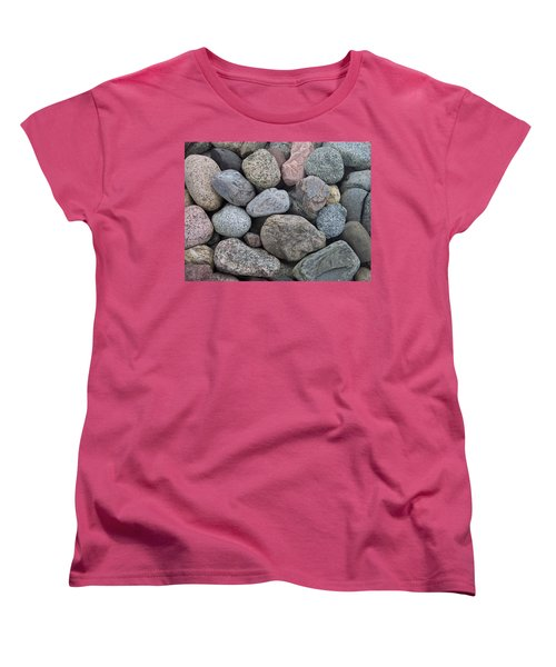 Women's T-Shirt (Standard Cut) featuring the photograph Colorful Rocks by Richard Bryce and Family