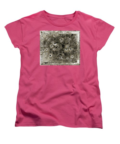 Women's T-Shirt (Standard Cut) featuring the photograph Color Me, Please by Barbara R MacPhail