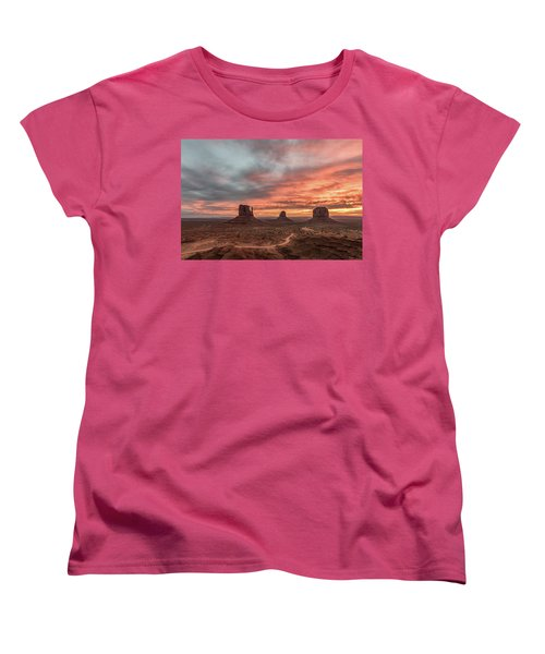 Women's T-Shirt (Standard Cut) featuring the photograph Colors Of The Past by Jon Glaser