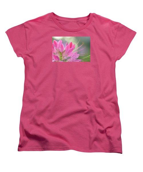 Colourful Greeting II Women's T-Shirt (Standard Cut) by Janet Rockburn