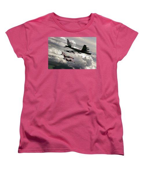 Combat Air Patrol Women's T-Shirt (Standard Cut) by Peter Chilelli