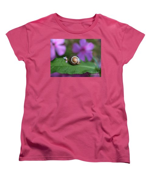 Come Out Of Your Shell Women's T-Shirt (Standard Cut) by Susan Dimitrakopoulos