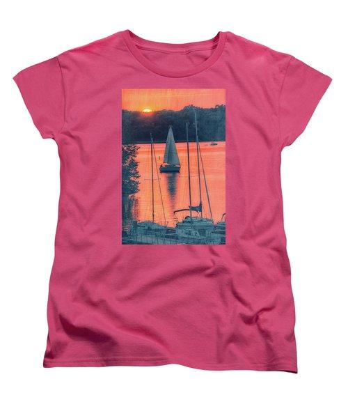 Come Sail Away Women's T-Shirt (Standard Cut) by Pamela Williams