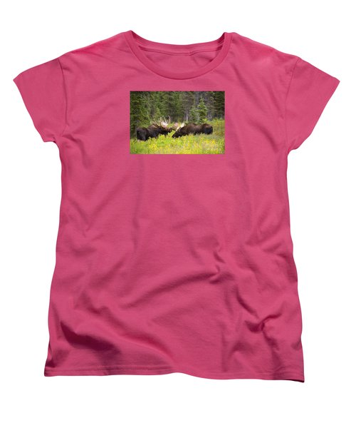 The Competition  Women's T-Shirt (Standard Cut) by Aaron Whittemore