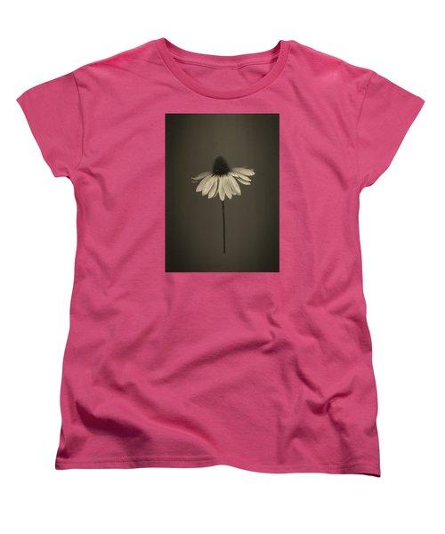 Cone Flower 8 Women's T-Shirt (Standard Cut) by Simone Ochrym