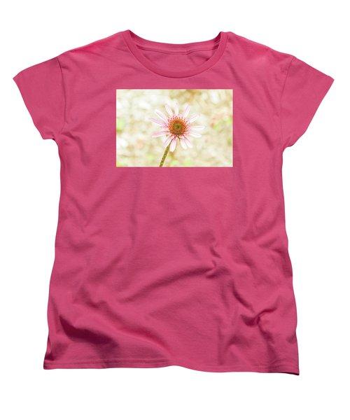 Cone Flower Women's T-Shirt (Standard Cut) by Jay Stockhaus
