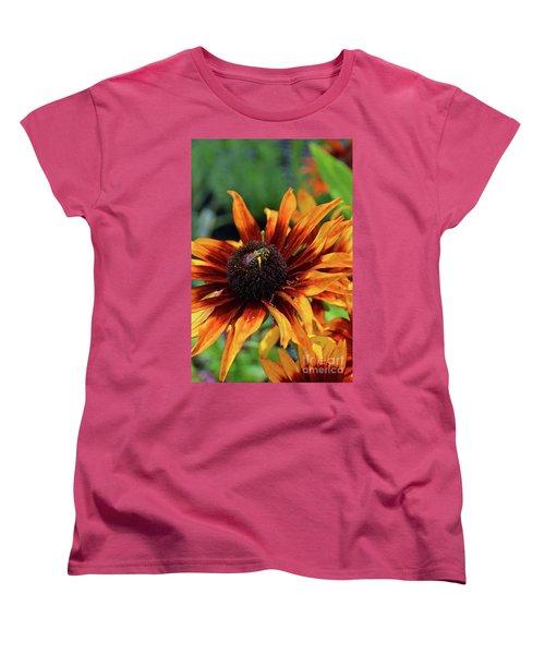 Coneflower  Women's T-Shirt (Standard Cut) by Eva Kaufman