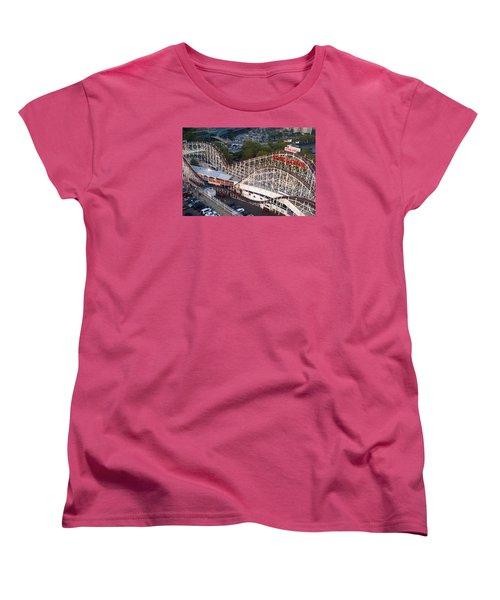 Coney Island Cyclone Women's T-Shirt (Standard Cut)