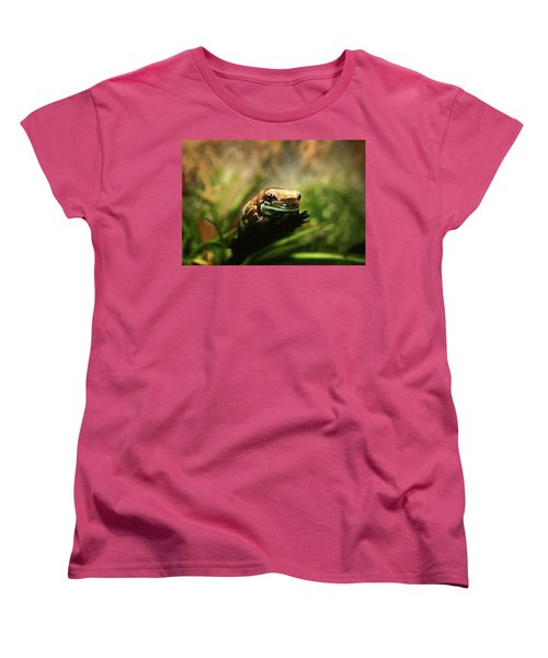 Women's T-Shirt (Standard Cut) featuring the photograph Content by Anthony Jones