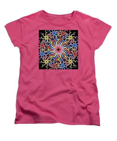 Women's T-Shirt (Standard Cut) featuring the photograph Copperhead Mandala by Brian Jones