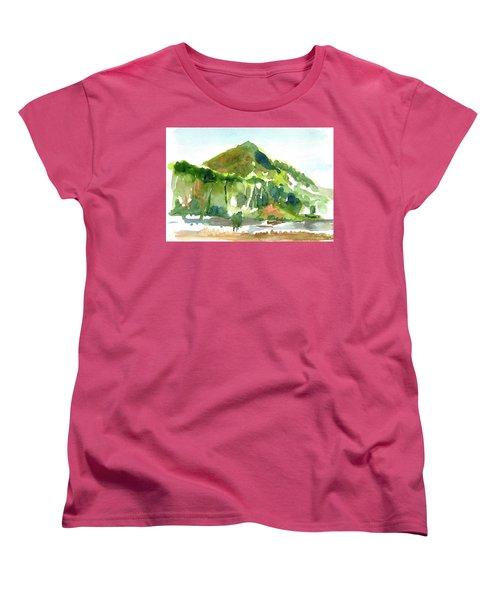 Corte Madera Creek Women's T-Shirt (Standard Cut) by Tom Simmons