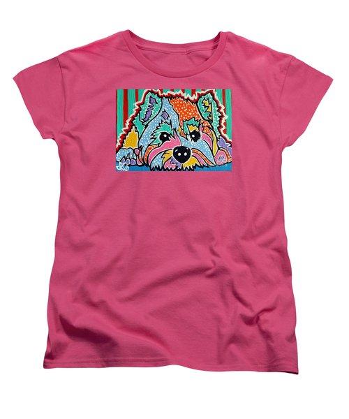 Cotton Candy Women's T-Shirt (Standard Cut) by Jackie Carpenter