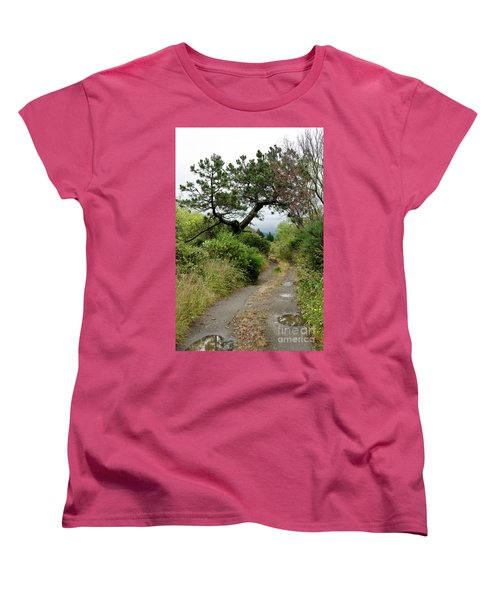 Country Road. New Zealand Women's T-Shirt (Standard Cut) by Yurix Sardinelly