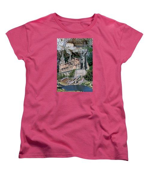 Women's T-Shirt (Standard Cut) featuring the photograph Covadonga by Angel Jesus De la Fuente