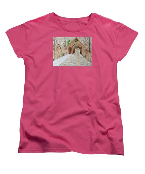 Covered Bridge Women's T-Shirt (Standard Cut)