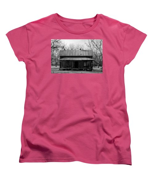 Cracker Cabin Women's T-Shirt (Standard Cut) by David Lee Thompson