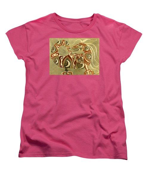 Crescent Dragon Women's T-Shirt (Standard Cut)