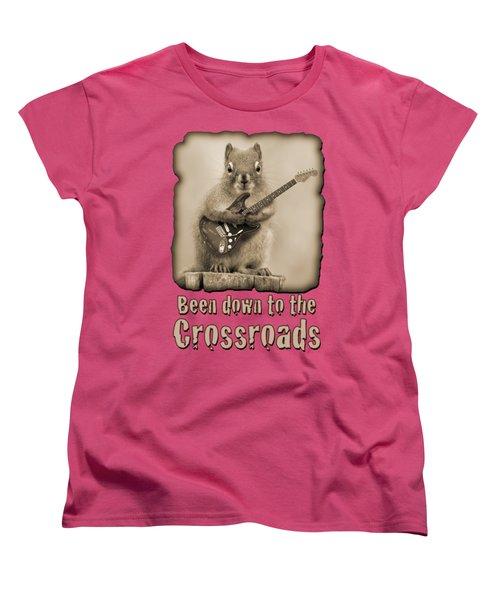 Crossroads-shirt Women's T-Shirt (Standard Cut)