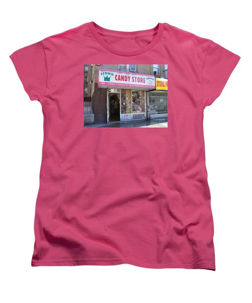 Women's T-Shirt (Standard Cut) featuring the photograph Crown Candy Store  by Cole Thompson