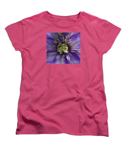 Women's T-Shirt (Standard Cut) featuring the photograph Crystal Fountain by Jeanette French