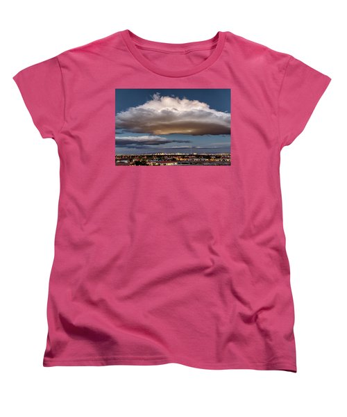 Women's T-Shirt (Standard Cut) featuring the photograph Cumulus Las Vegas by Michael Rogers