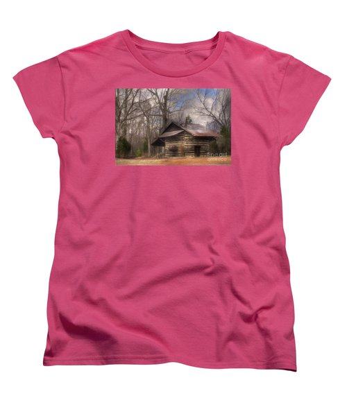 Women's T-Shirt (Standard Cut) featuring the photograph Curing Time by Benanne Stiens