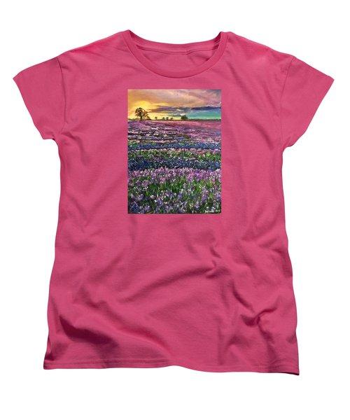D R E A M S Women's T-Shirt (Standard Cut) by Belinda Low