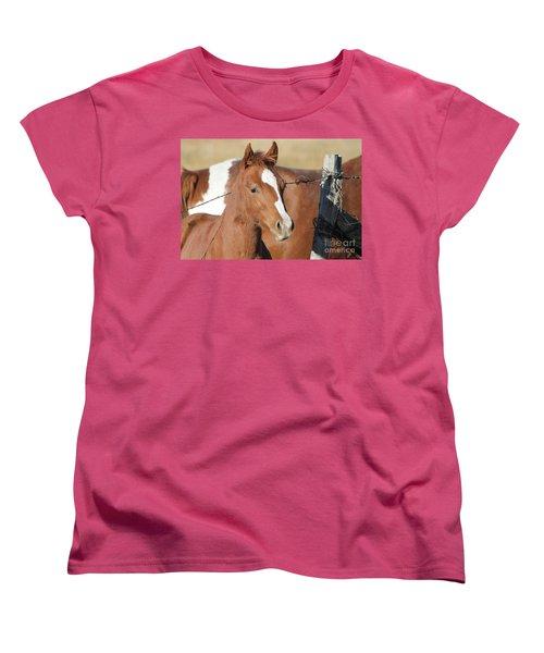 Daddys Home Women's T-Shirt (Standard Cut) by Pamela Walrath