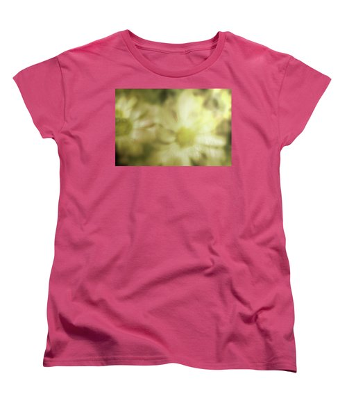 Women's T-Shirt (Standard Cut) featuring the photograph Daisies by Gray  Artus
