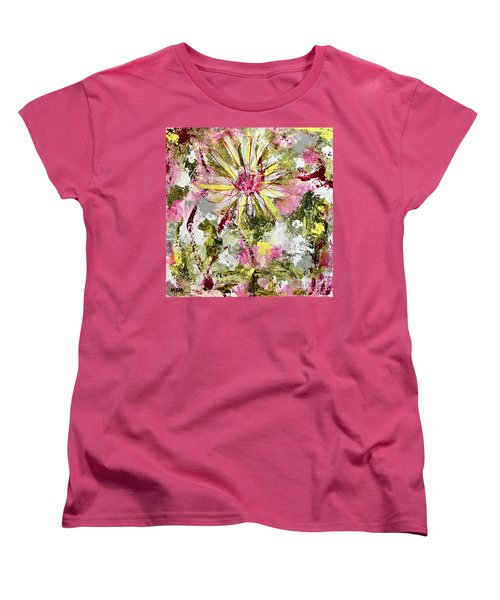 Daisies On Parade No. 1 Women's T-Shirt (Standard Cut)