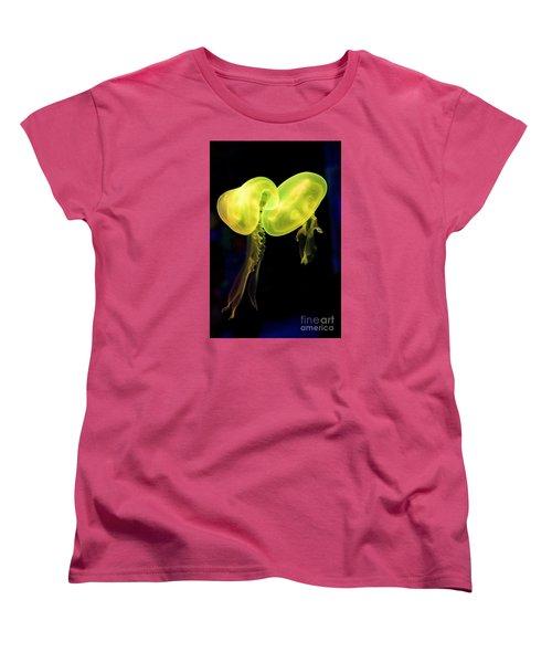 Dance Of The Jellies Women's T-Shirt (Standard Cut) by Gary Bridger