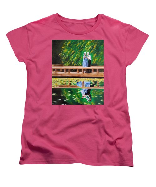 Dance Reflection Women's T-Shirt (Standard Cut) by Jason Marsh