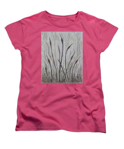 Dancing Cattails 3 Women's T-Shirt (Standard Cut) by Trish Toro