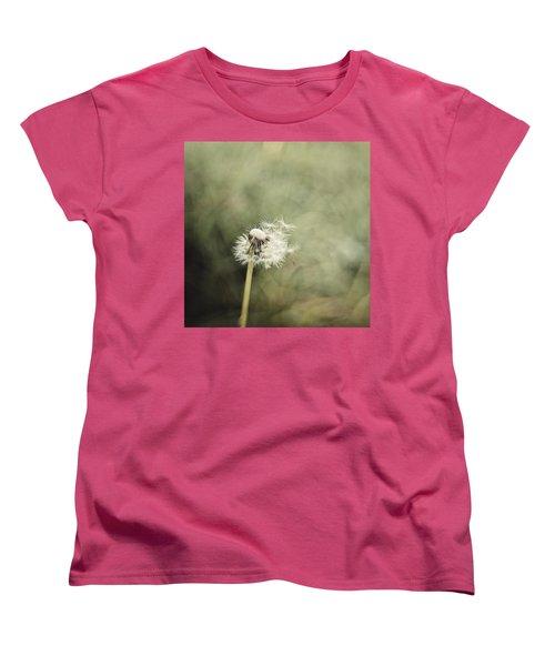 Dandelion  #lensbaby #composerpro Women's T-Shirt (Standard Cut) by Mandy Tabatt