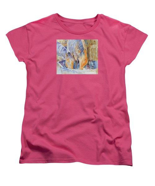 Dappled Sunlight Women's T-Shirt (Standard Cut) by Mary Haley-Rocks