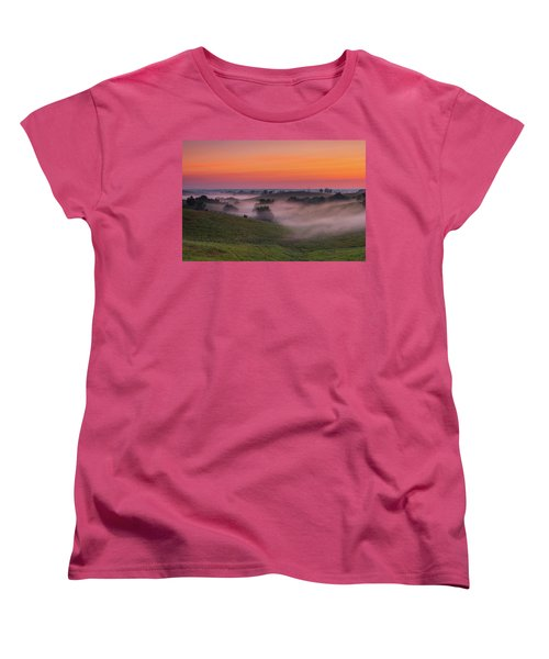 Dawn In Kentucky Women's T-Shirt (Standard Cut) by Ulrich Burkhalter