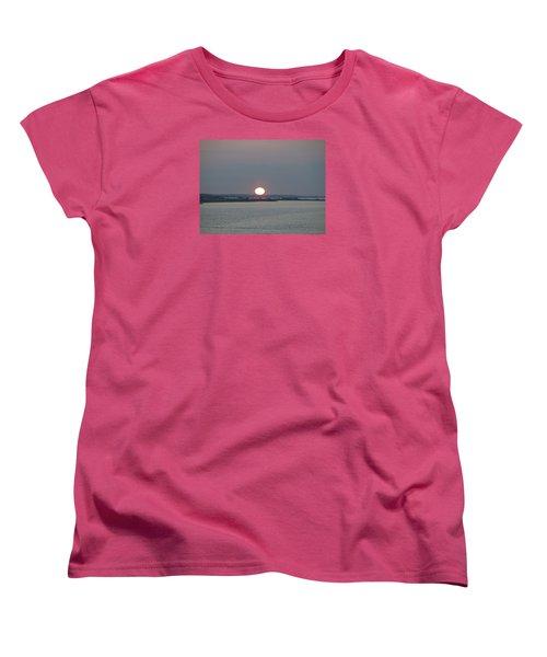 Women's T-Shirt (Standard Cut) featuring the photograph Dawn by  Newwwman