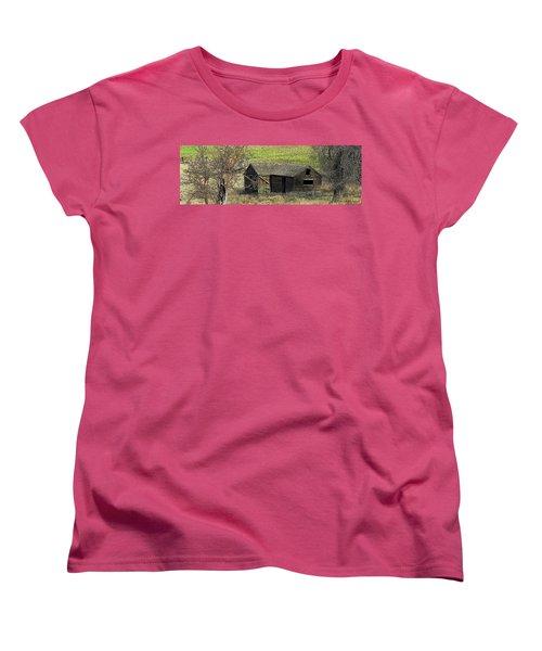 Days Of Old Women's T-Shirt (Standard Cut) by Steve Warnstaff