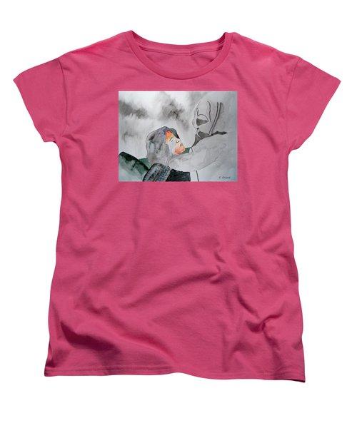 Dean Deleo - Stone Temple Pilots - Music Inspiration Series Women's T-Shirt (Standard Cut) by Carol Crisafi