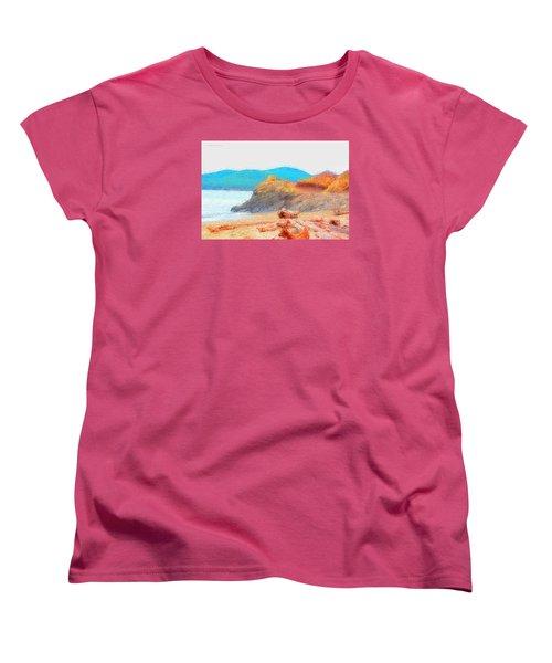 December's Shore Women's T-Shirt (Standard Cut) by Tobeimean Peter