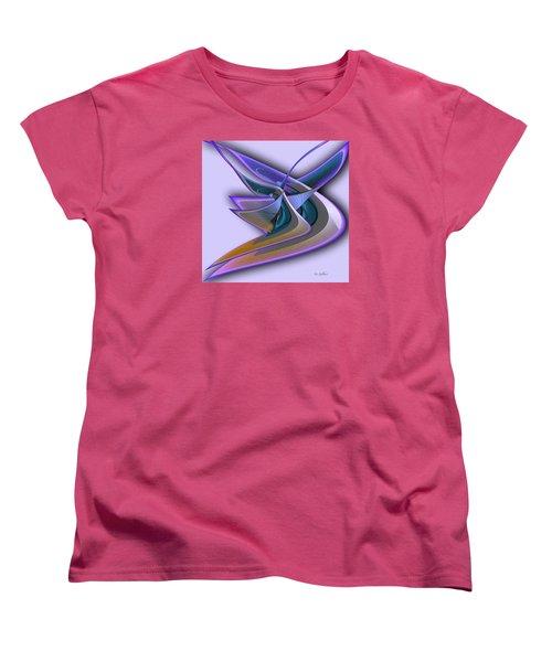 Deep Glow Women's T-Shirt (Standard Cut) by Iris Gelbart