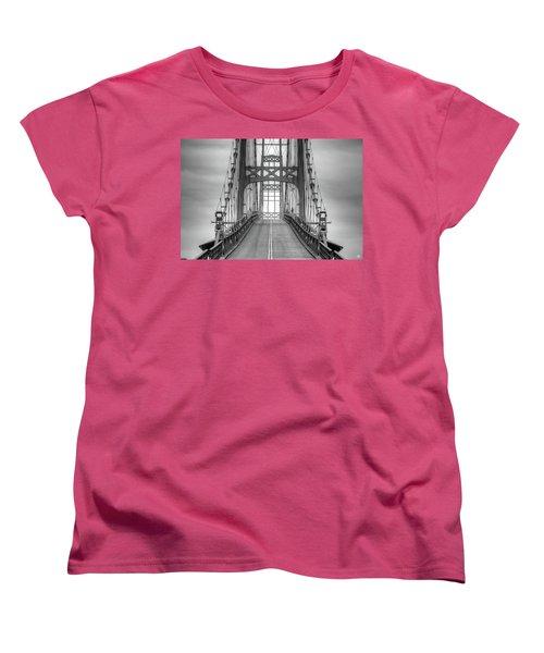 Deer Isle Sedgwick Bridge Women's T-Shirt (Standard Cut)
