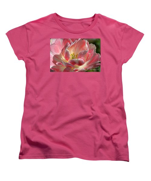 Delicate Women's T-Shirt (Standard Cut) by Diana Mary Sharpton