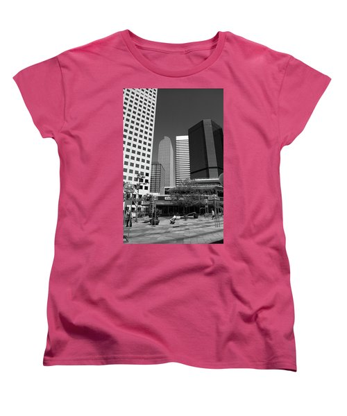 Denver Architecture Bw Women's T-Shirt (Standard Cut) by Frank Romeo
