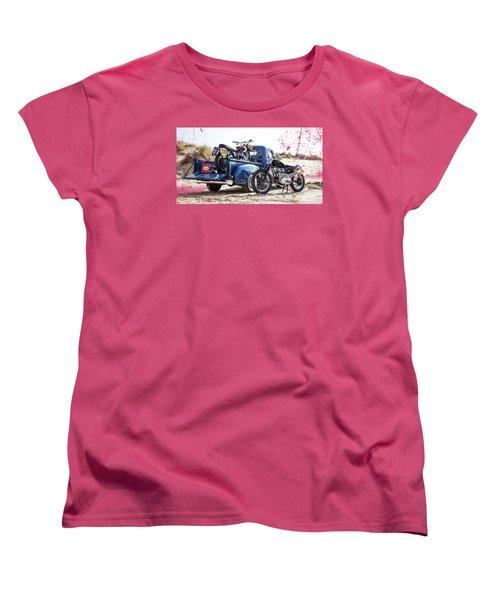 Desert Racing Women's T-Shirt (Standard Cut) by Mark Rogan