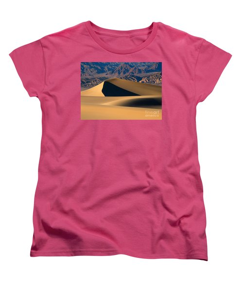 Desert Sand Women's T-Shirt (Standard Cut) by Mike Dawson