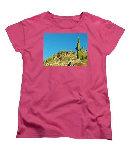 Desert Sky Women's T-Shirt (Standard Cut) by Judi Saunders