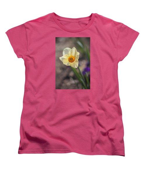 Diagonal Daffy Women's T-Shirt (Standard Cut) by Morris  McClung