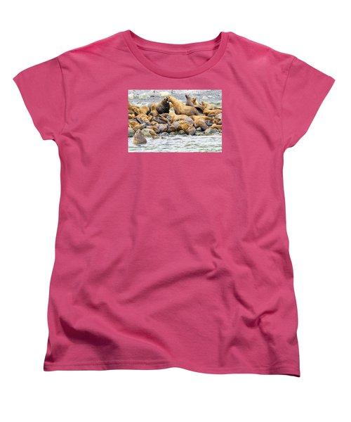 Disagreement Women's T-Shirt (Standard Cut) by Harold Piskiel