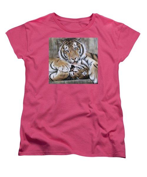Diana's Duo Women's T-Shirt (Standard Cut) by Sandi Baker